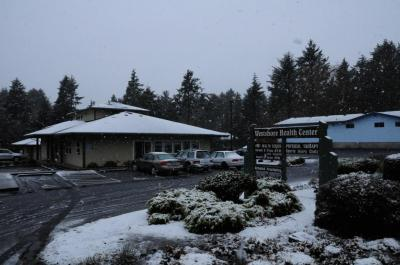 Lincoln City PT in the snow